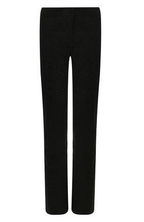 Мужской шерстяные брюки BOTTEGA VENETA черного цвета, арт. 592630/VKCX0 | Фото 1