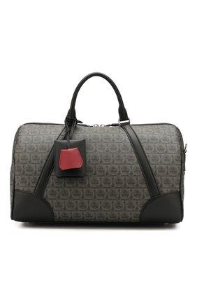Мужская дорожная сумка SALVATORE FERRAGAMO серого цвета, арт. Z-0716636 | Фото 1