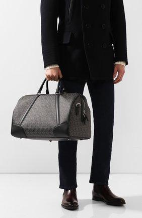 Мужская дорожная сумка SALVATORE FERRAGAMO серого цвета, арт. Z-0716636 | Фото 2