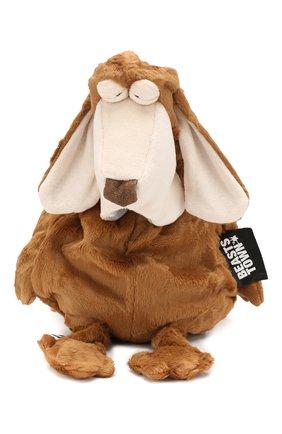 Детского игрушка собака SIGIKID коричневого цвета, арт. 38942 | Фото 1