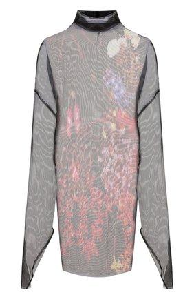 Женское платье-туника DRIES VAN NOTEN черного цвета, арт. 192-11016-8138 | Фото 1