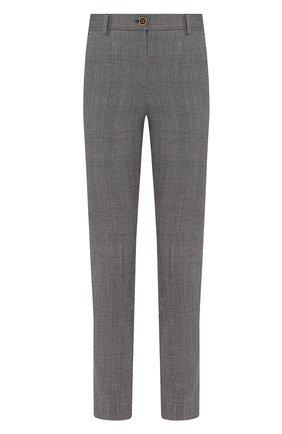 Женские шерстяные брюки DOLCE & GABBANA светло-серого цвета, арт. FTAMUT/FQBBK | Фото 1