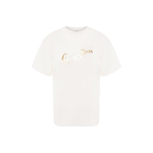 Хлопковая футболка Golden Goose Deluxe Brand