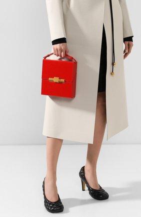 Женская сумка daisey BOTTEGA VENETA красного цвета, арт. 577038/VCPI1 | Фото 2