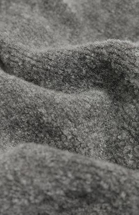 Мужские шерстяной шарф-снуд INVERNI серого цвета, арт. 4612SM | Фото 2