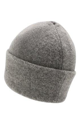 Женский шерстяная шапка INVERNI серого цвета, арт. 4614CM | Фото 2