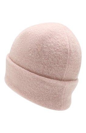 Женский шерстяная шапка INVERNI светло-розового цвета, арт. 4614CM | Фото 2