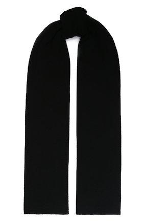 Мужские кашемировый шарф INVERNI черного цвета, арт. 9063SM | Фото 1
