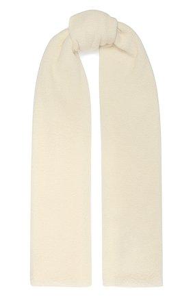 Мужские кашемировый шарф INVERNI белого цвета, арт. 9063SM | Фото 1