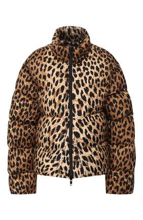 Женский утепленная куртка BALENCIAGA леопардового цвета, арт. 595221/TGL34 | Фото 1