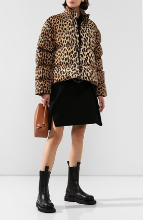 Женский утепленная куртка BALENCIAGA леопардового цвета, арт. 595221/TGL34 | Фото 2