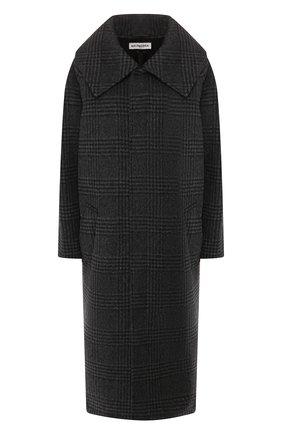 Женское пальто BALENCIAGA серого цвета, арт. 594880/TGU03 | Фото 1