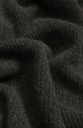 Мужской кашемировый шарф-снуд TEGIN темно-серого цвета, арт. 5233   Фото 2
