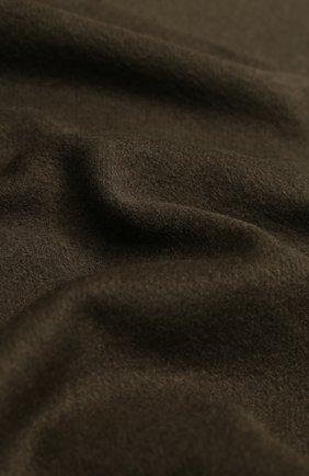 Мужской шелковый шарф TOM FORD хаки цвета, арт. 6TF125/2TA | Фото 2