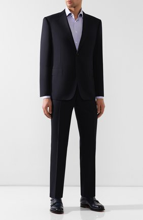 Мужской шерстяной костюм CORNELIANI темно-синего цвета, арт. 847315C9818150/92   Фото 1