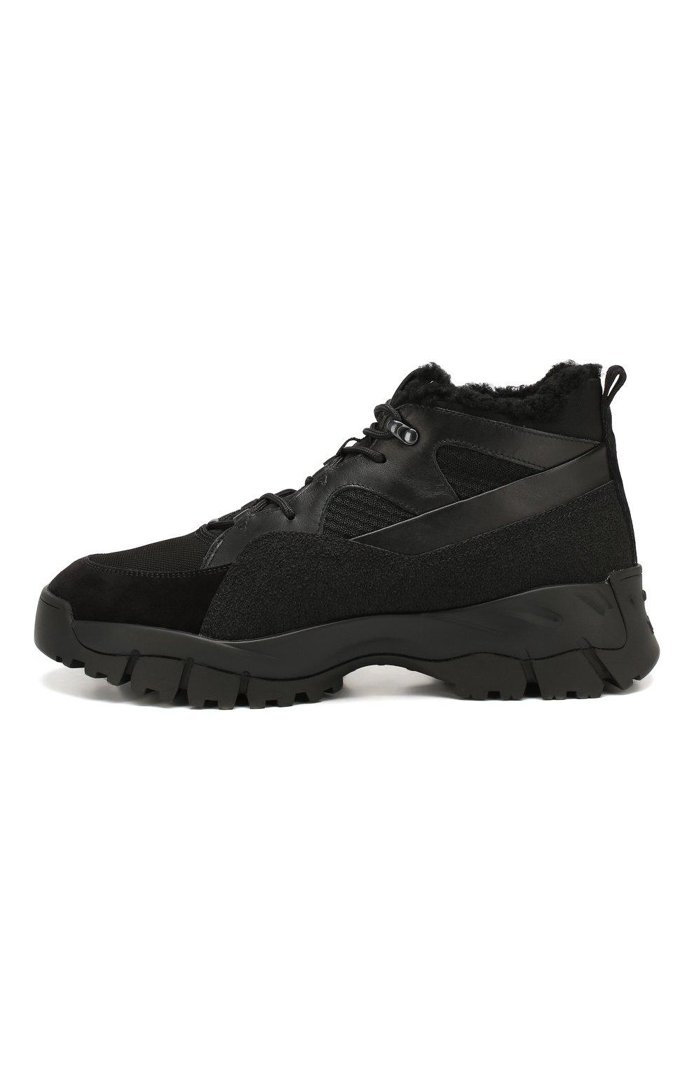 Комбинированные ботинки | Фото №3