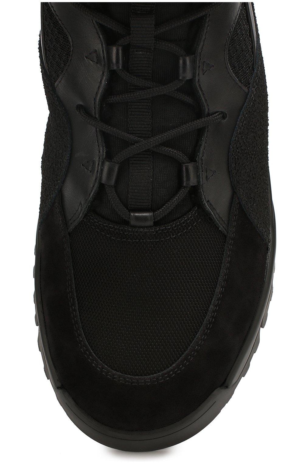 Комбинированные ботинки | Фото №5