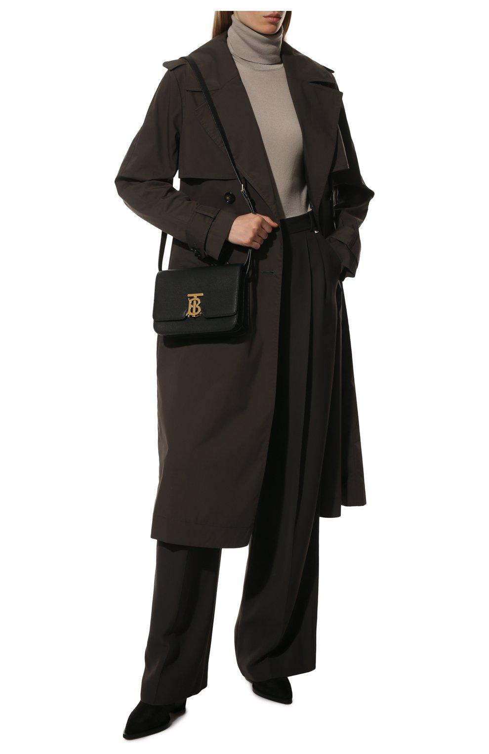 Женская сумка tb small BURBERRY черного цвета, арт. 8019338 | Фото 3