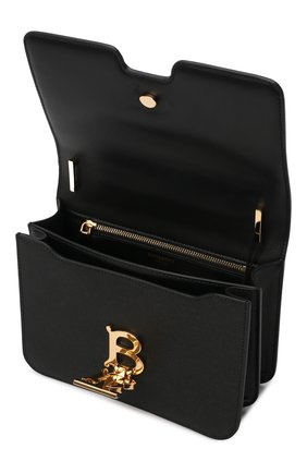 Женская сумка tb small BURBERRY черного цвета, арт. 8019338 | Фото 5