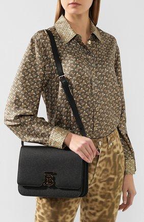 Женская сумка tb medium BURBERRY черного цвета, арт. 8019343   Фото 2