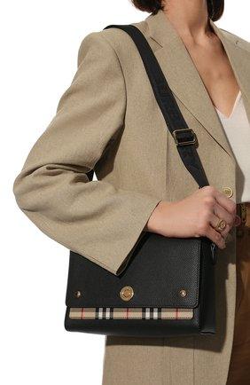 Женская сумка note medium BURBERRY черного цвета, арт. 8021110   Фото 2