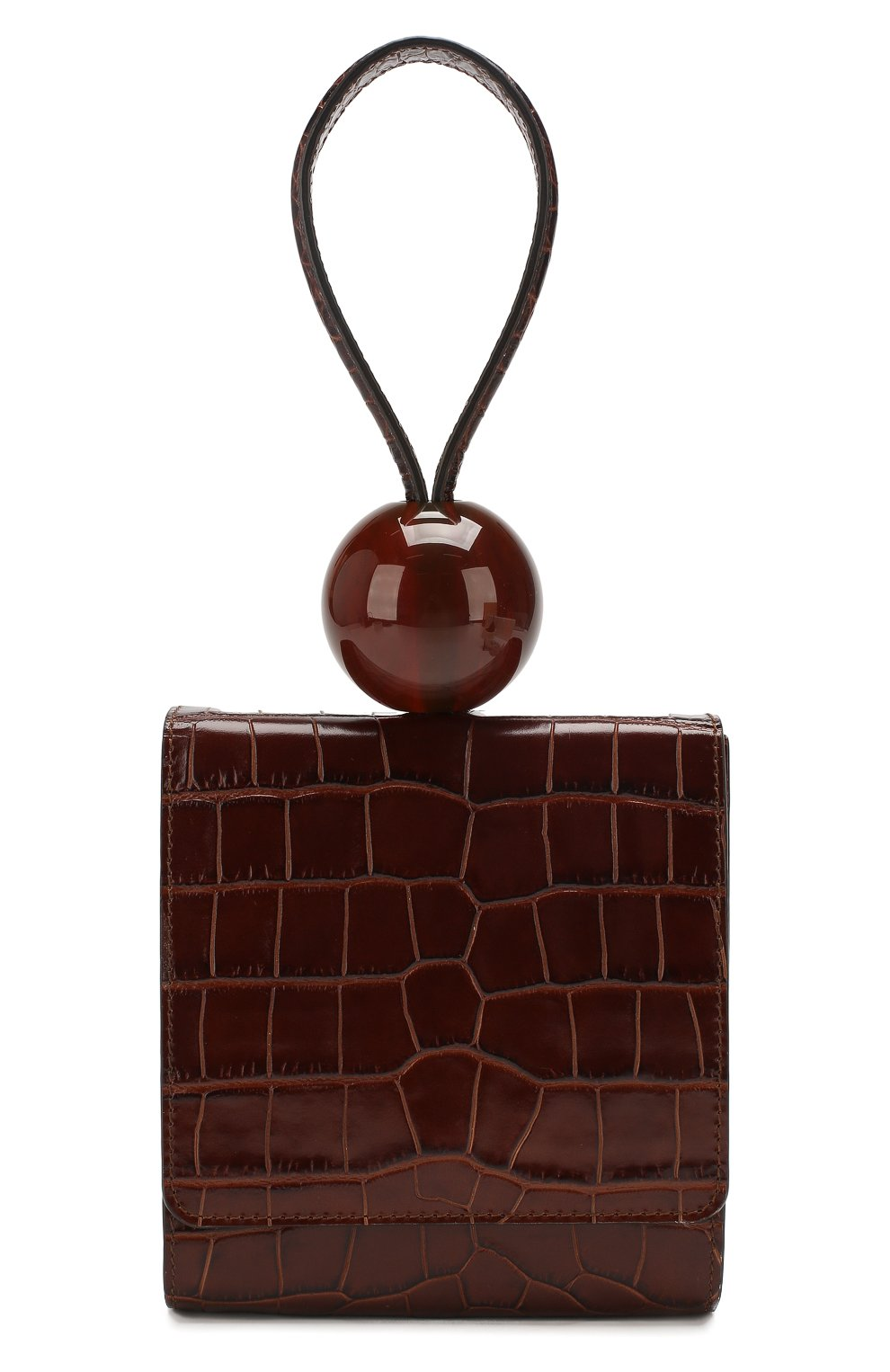 Женская сумка ball BY FAR коричневого цвета, арт. 18FWBALANEDSMA | Фото 1