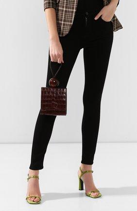 Женская сумка ball BY FAR коричневого цвета, арт. 18FWBALANEDSMA | Фото 2