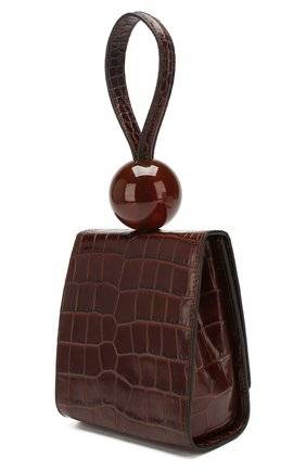 Женская сумка ball BY FAR коричневого цвета, арт. 18FWBALANEDSMA | Фото 3