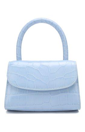 Женская сумка mini BY FAR голубого цвета, арт. 18FWMINASBDSMA   Фото 1