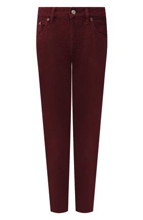 Женские джинсы GOLDEN GOOSE DELUXE BRAND бордового цвета, арт. G35WP008.B1 | Фото 1