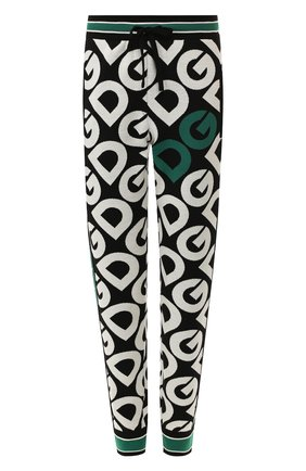 Женские шерстяные брюки DOLCE & GABBANA зеленого цвета, арт. FX552T/JAVPX | Фото 1