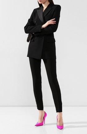 Женские брюки BARBARA BUI черного цвета, арт. U7600EEA | Фото 2
