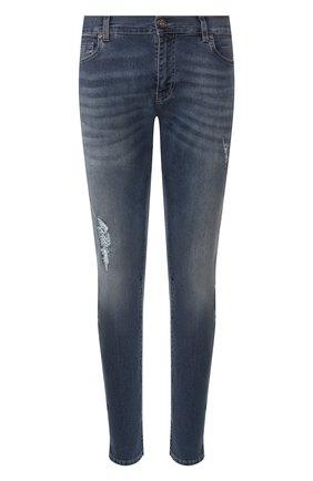 Мужские джинсы BILLIONAIRE синего цвета, арт. MDT1848 | Фото 1