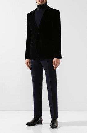 Мужские кожаные оксфорды MAGNANNI черного цвета, арт. 21223/CHAR0L | Фото 2