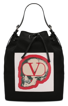 Мужская текстильная сумка valentino garavani x undercover VALENTINO черного цвета, арт. SY0B0868/QQV | Фото 1