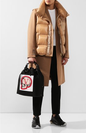 Мужская текстильная сумка valentino garavani x undercover VALENTINO черного цвета, арт. SY0B0868/QQV | Фото 2