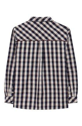 Детская хлопковая рубашка TARTINE ET CHOCOLAT зеленого цвета, арт. TP12083/4A-5A | Фото 2