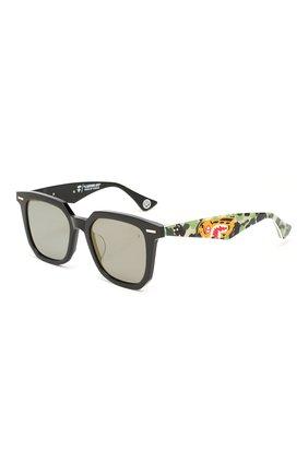 Мужские солнцезащитные очки BAPE зеленого цвета, арт. 1F70182048 | Фото 1