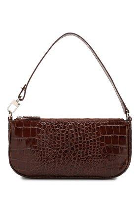 Женская сумка rachel BY FAR коричневого цвета, арт. 18FWRCLSNEDMED   Фото 1