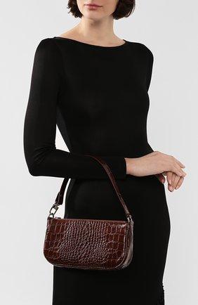 Женская сумка rachel BY FAR коричневого цвета, арт. 18FWRCLSNEDMED   Фото 2