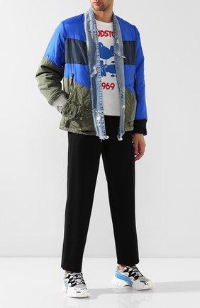 Комбинированная куртка | Фото №2