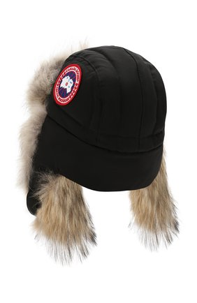 Женский шапка-ушанка CANADA GOOSE черного цвета, арт. 5187L | Фото 2