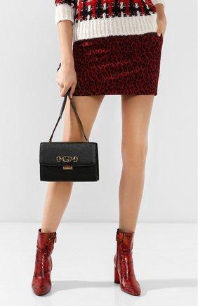Женская сумка gucci zumi small GUCCI черного цвета, арт. 576388/1B90X   Фото 2 (Материал: Натуральная кожа; Размер: small; Ремень/цепочка: На ремешке; Сумки-технические: Сумки через плечо)