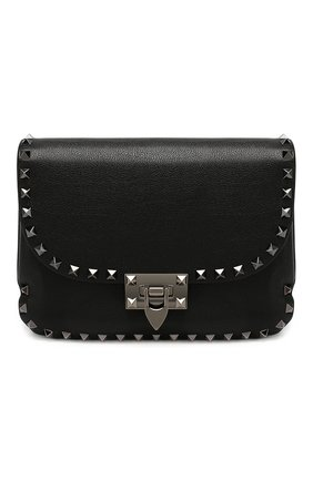 Женская сумка valentino garavani rockstud VALENTINO черного цвета, арт. SW0B0F12/MWG | Фото 1
