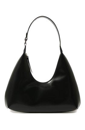 Женская сумка amber BY FAR черного цвета, арт. 19PFAMRSBLWLAR   Фото 1