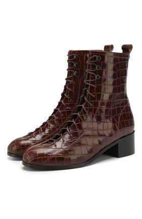 Кожаные ботинки Bota | Фото №1