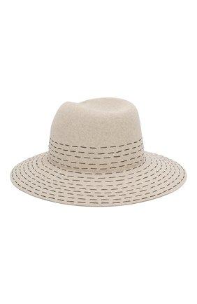 Женская фетровая шляпа virginie MAISON MICHEL серого цвета, арт. 1001108001/VIRGINIE   Фото 2