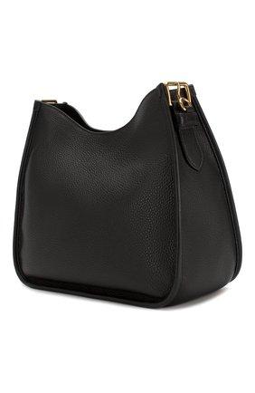 Женская сумка PRADA черного цвета, арт. 1BC073-2BBE-F0002-NOM | Фото 2