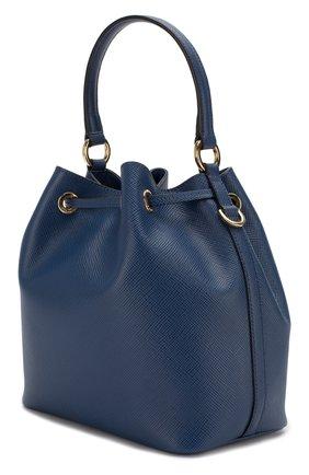 Женская сумка bucket PRADA синего цвета, арт. 1BE032-2A4A-F0016-OOO | Фото 2