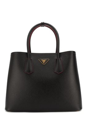 Женская сумка PRADA черного цвета, арт. 1BG756-2A4A-F0LJ4-OOO | Фото 1